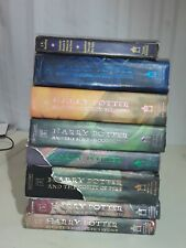 Harry Potter complete book set 1-7 hardcover +2001 Hogwart's School of Witchcraf