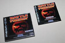 BATTLE FRENZY Domark SEGA Mega Drive CD in OVP TOP Zustand +++RAR+++