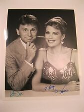 Pat Sajak & Vanna White Hand Signed Autographed 8x10 Glossy Photo