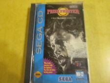 GAME PRIZE FIGHTER FOR SEGA CD SYSTEM   COMPLETE WITH CASE AND BOOK