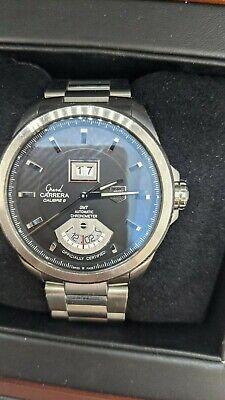 Tag Heuer Grand Carrera Calibre 8 GMT WAV5111.BA0901 - 42.5MM - Box & Paperwork