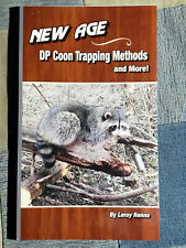New Age Dp Coon Trapping Methods by Leroy Renno book trapper traps fur Trade