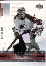 PATRICK ROY, COLORADO AVALANCHE, RARE NHL CARD, 3.
