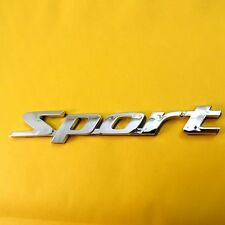 Sport Sticker Chrome Universal Auto Car ABS Stylish Emblem 3D Logo Badge Decal