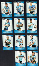 2014  CRONULLA SHARKS  TRADERS  RUGBY LEAGUE CARDS