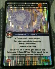 Dragonball Z Panini TCG Foil Vegeta's Destruction Blast R131