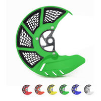 Motorcycle Front Disc Guard Cover Fit For Kawasaki KX125 250 250F 450F KLX450R