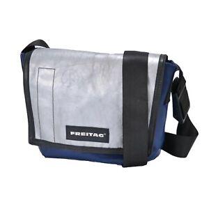Freitag Serie G 5.1 Blue Gray Messenger Tasche Briefcase Transformer Bag Cycling
