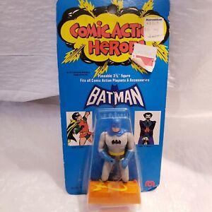 Vintage Mego Comic Action Heroes 1975 DC Comics 3 3/4 Batman  Rare Original NIB