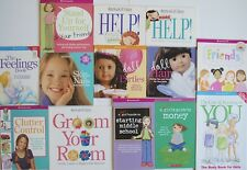 American Girl Books Lot of 13 Feelings Middle School Nails Money Parties Crafts