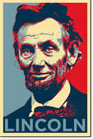 Abraham Lincoln Art Print 'Hope' - Photo Poster Gift