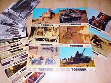 TOBROUK ! rock hudson jeu 20 photos cinema lobby cards 1966