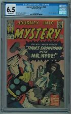 JOURNEY INTO MYSTERY #100 CGC 6.5 KIRBY CVR & ART OFF-WHITE PAGES 1964