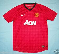 Manchester United / 2012-2013 Home - NIKE - JUNIOR Shirt / Jersey. 13-15 158-170