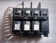 NIB, SIEMENS BQ3B05000S01 Bolt On Circuit Breaker, 50A, 3 pole, 240V, Shunt Trip