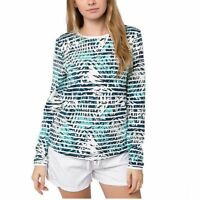 SALE Hang Ten Women's Long Sleeve Rash Guard Shirt VARIETY OF SIZE AND COLORB44