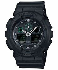 Casio Analog Digital Sport Mens G Shock Black Watch Ga-100mb-1a