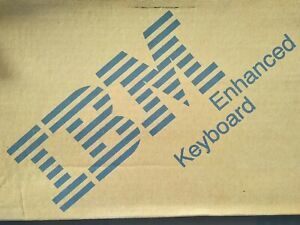 IBM Model M 42H1292 NEW IN BOX SEALED IN FOAM CLICKETY mfrd: 12/95 Rare vintage