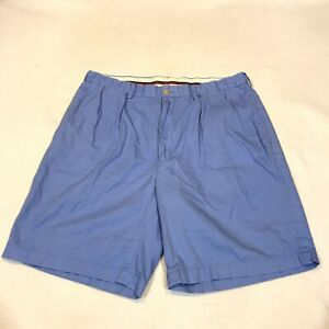 Ralph Lauren Polo Golf Short Casual Pleated Front Pockets Blue Men's 34 (tag 36