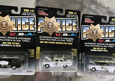 55 Chevy Ford STATE POLICE COLORADO CALIFORNIA WYOMING diecast Racing Champions