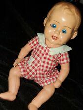 "western germany celluloid  8"" doll"