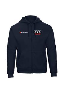 Audi sport ZIP hoodie * Formula E * Quality * DTM * racing * RS Q5 Q7 A4 A5 A6