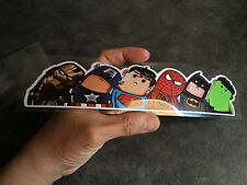 New Superhero Avengers Vinyl Decal Car Window Sticker Wrap Superman Hitchhike