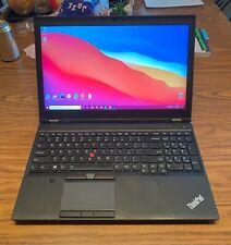 New listing Lenovo Thinkpad P50   Intel E3-1505M v5   M2000M   64 Gb Ram   1 Tb Ssd