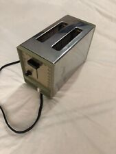 Vintage GE General Electric Toaster 2 Slice Avocado Green