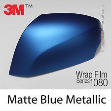 20x30cm LÁMINA Mate Blue Metal 3M 1080 M227 Vinilo CUBIERTA Nuevo Series
