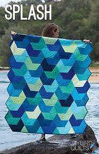 Splash Quilt Pattern ~ Julie Herman ~ Sailboat V ~ uses Jaybird Hex N More ruler