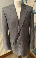 Daks Of London Grey Suit Jacket - Jermyn Street - Pure New Wool - UK Size 40R