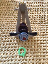 More details for vintage german apollinaris water rubber and enamel bottle stopper