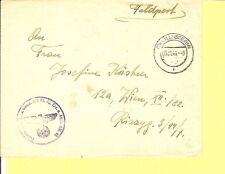 Österreich / OSTMARK 5.11.44 (12a) CILLI (STERM) K2 mit PLGZ auf Feldpost-Brief