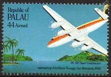 Air Micronesia (Airline) DOUGLAS DC-6/DC-6B Airliner Aircraft Stamp (1985 Palau)