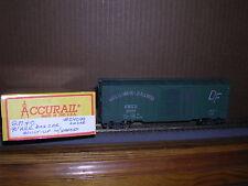 Accurail #? Gulf Mobile & Ohio 40' Aar Steel Box Car #24099 Weathered