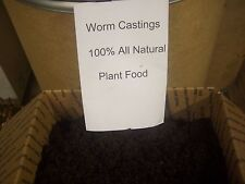 Worm castings 100% all natural Plant Food (17 lb box)