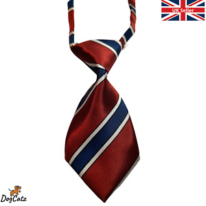 Dog Ties, Pretty Collar and Neck, Bowties, Cats and Puppies, Red Striped