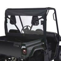 2002-2008 Polaris Ranger 500 Quadgear Utv Rear WindoW-Polaris Ranger Black/pvc -