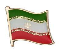 Iran Flag Badge Pin Enamel Metal Lapel Iranian Country