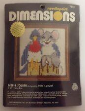 Dimensions 27013 Peep and Squeak Bluebird & Mouse Needlepoint Kit Linda K Powell