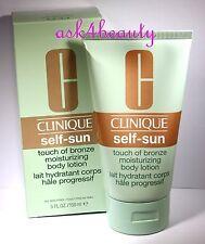 Clinique Self Sun Touch Of Bronze Moisturizing Body Lotion 5oz/150ml New In Box