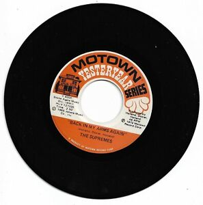 SUPREMES - BACK IN MY ARMS AGAIN - MOTOWN YESTERYEAR  -  EX CONDITION.