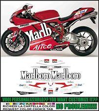 kit adesivi stickers compatibili 848 1098 1198 gp 2008 replica world champion