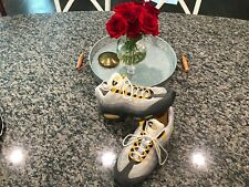 VTG 1998 OG Men's Nike Airmax 95 SC Shoes Gray Black Yellow Streak Rare 10.5