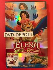 ELENA AND THE SECRET OF AVALOR DVD W/ DISNEY REWARDS BEWARE OF CHEAP FAKES *READ