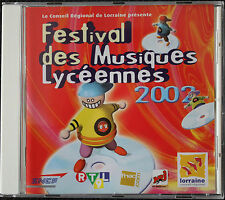 FESTIVAL DES MUSIQUES LYCEENNES 2002   CD