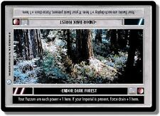 Star Wars CCG Endor DS Rare Endor: Dark Forest
