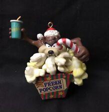 Warner Bros Looney Tunes Movie Popcorn Tasmanian Devil 3�H Ornament