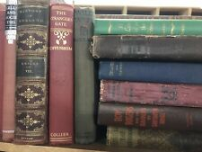 Lot of 10 Vintage Old Rare Hardcover Books - Mixed Color - Random